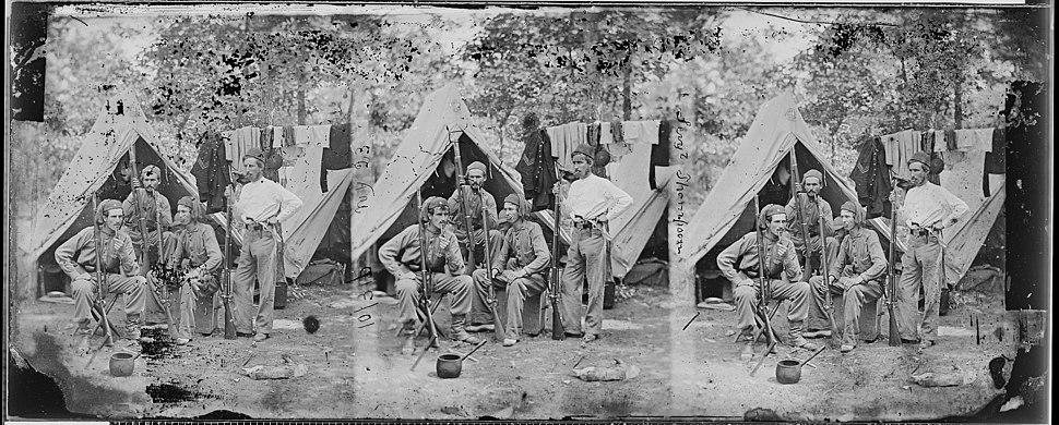Sergt. Thompson, 23rd N.Y. Volunteers - NARA - 529523
