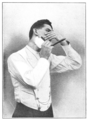 Shaving Made Easy, 1905 - Shaving the right side under the jaw.png