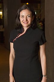 Sheryl Sandberg Moet Hennessy Financial Times Club Dinner 2011.jpg