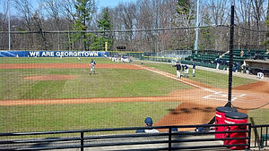Shirley Povich Field, Georgetown Hoyas vs UConn Huskies March 23, 2013