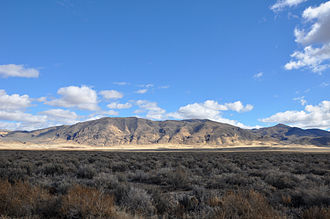 Nevada State Route 305 - The Shoshone Range, as seen from SR 305 near Battle Mountain