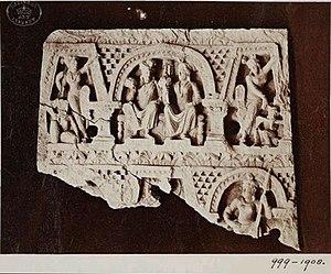 Yasodharā - Siddharta and wife Yasodhara, Gandhara, Lahore Museum.