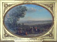 Siege of La Rochelle by Claude Lorrain Le Louvre