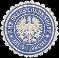 Siegelmarke Amt Preuss. Oldendorf Kreis Lübbecke W0345923.jpg