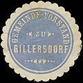 Siegelmarke Gemeinde-Vorstand zu Gillersdorf W0383024.jpg
