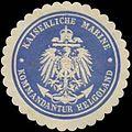 Siegelmarke K. Marine Kommandantur zu Helgoland W0346751.jpg