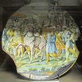 Siena, piatto con trionfo di davide tra gli assiri, 1745-1750 ca.JPG