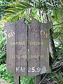 Sign for Barrio Perchas, in Morovis, on Puerto Rico Hwy 155, Km 35.9.jpg