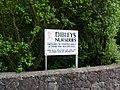 Sign for Dibley's Nurseries - geograph.org.uk - 1585084.jpg