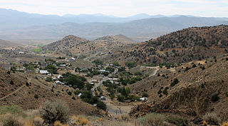 Silver City, Nevada Unincorporated community in Nevada, United States