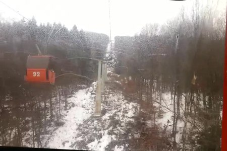 File:Simeonovo lift to Mount Vitosha, Sofia, Bulgaria.webm