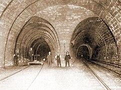 Simplon tunnel D