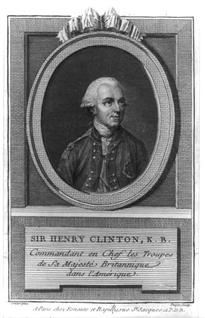 James Moore (Continental Army officer) - Image: Sir henry clinton