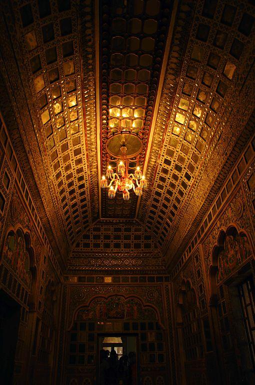 8th place: Inside of Sis Mahal, Maharangadh Fort, Jodhpur, India, by Dola Das