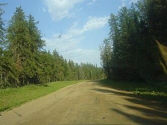 Meadow Lake Provincial Park - Image: Sk Hwy 904