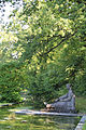 Skulptur am Seerosenteich - Friedhof Rosenberg Winterthur.jpg