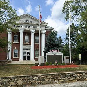 Slatersville, Rhode Island - Town Hall