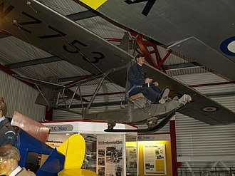 Slingsby Grasshopper - Slingsby T.38 on display at the Solent Sky museum.
