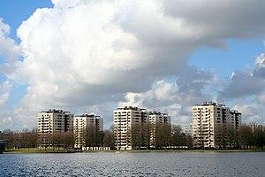 Amsterdam Nieuw-West - Sloterplas, Slotermeer.