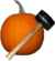Smashing Pumpkins pumpkin and mallet.png