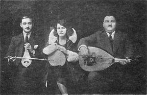 Classical kemençe - Smyrna style trio: K. Lambros, R.Eskenazi, A. Tomboulis (Athens, 1930)