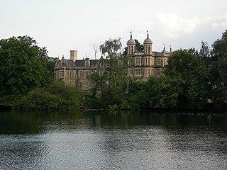 Snaresbrook area of east London, England