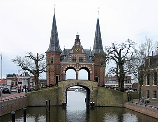 City and former municipality in Friesland, Netherlands