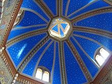 Soffitto dipinto della pieve di S. Maria Assunta
