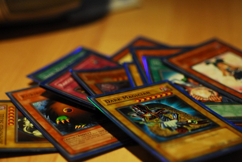 File:Some Yu-Gi-Oh! cards.jpg