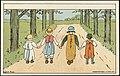 Sommermotiv med fire barn Lisbeth Bergh - 35319636875.jpg