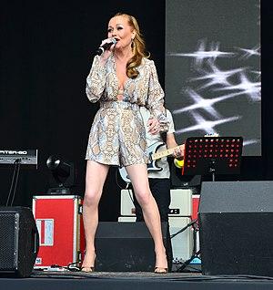Sonia (singer) - Sonia at Lets Rock Bristol in 2014.