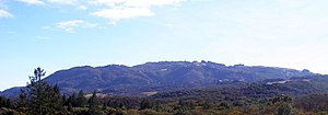 Sonoma Mountain - Northeast flanks of Sonoma Mountain viewed from Annadel State Park.