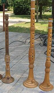 Sopila traditional woodwind instrument of Croatia