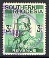 Southern Rhodesia 1937 3 Shilling Revenue Stamp.jpg