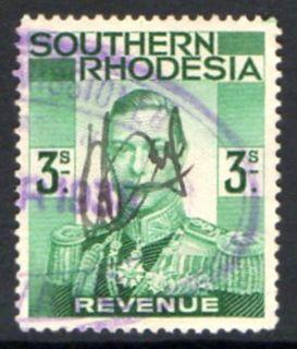Revenue stamps of Rhodesia