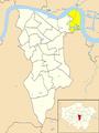 Southwark London UK map Surrey Quays.png