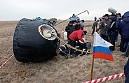 Soyuz TMA-2 after landing