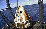 SpaceX Demo-1 following splashdown (cropped).jpg