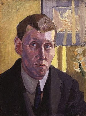 Museum of Richmond - Self-portrait of Spencer Gore