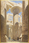 Spiers, Richard Phene — Karnac - Great Hall of Columns View across centre avenue — 1866.jpg