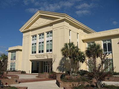 Marnie & John Burke Memorial Library.