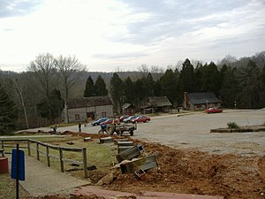 Squire Boone Caverns - Image: Squire Boone Caverns village 2