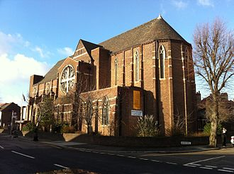 North Acton - Image: St.Gabriel.North.Act on