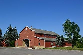 St. Mary's University, Calgary - Image: St.Mary's University College St. Basil's Hall 03