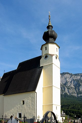 Steinbach am Attersee - Image: St. Andreas (Steinbach)