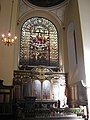 St. Edmund The King and Martyr, Lombard Street, EC3 - altar and east window - geograph.org.uk - 1112007.jpg