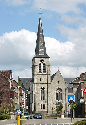Machelen - Image: St Gertrudis Church Machelen