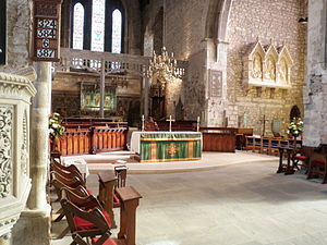 St Mary's Cathedral, Limerick - The altar of the Cathedral