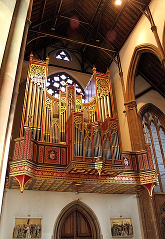 St Chad's Cathedral, Birmingham - The organ