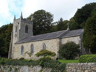 Llangefni - St Cyngar's Church, Llangefni